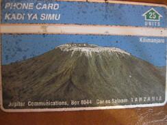 Télécarte De Tanzanie