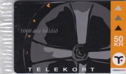 Faroe Islands, OD-029,  50 Kr , Mint In Blister, Christianity 1000 Year. - Faroe Islands