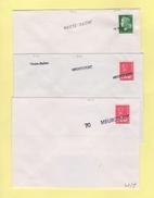 Griffe Meurcourt  - Haute Saone - 3 Griffes Differentes - Storia Postale