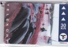 Faroe Islands, OD-031, 30 Kr , Pilot Whales, Mint In Blister, 2 Scans - Faroe Islands