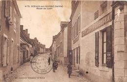 72-SCEAUX-SUR-HUISNE- ROUTE DU LUART - France