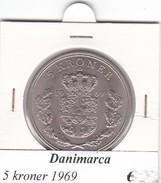 DANIMARCA   5  KRONER  1969 (2)  COME DA FOTO - Danimarca