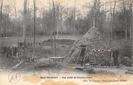 CPA 95 MONTMORENCY UNE HUTTE DE CHARBONNIERS - Montmorency