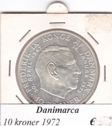 DANIMARCA   10  KRONER  1972  COME DA FOTO - Danimarca
