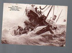 Yport (76 Seine Maritime) Naufrage Du Nell Jess (voyagé 1931) (PPP4885) - Yport