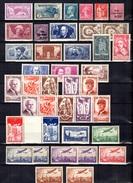 France Belle Petite Collection De Bonnes Valeurs Neufs * 1924/1943. Gommes D'origine. B/TB. A Saisir!