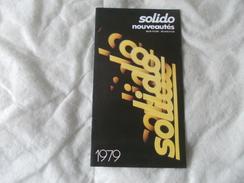Solido Catalogue 1979 - Modélisme