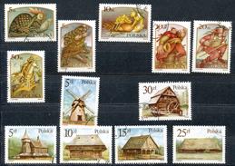 Polen   - Mi.Nr.    3052-3057 +3060-3065   Gestempelt - 1944-.... Republik