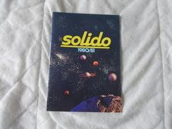Solido Catalogue 1980 1981 - Modélisme