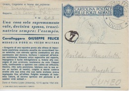 MEDAGLIA D'ORO AL VALOR MILITARE - CAVALLEGGERO GIUSEPPE FELICE - ZONA DI KODRA LUQES (ALBANIA) - APRILE 1941 - Guerra 1939-45