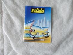 Solido Catalogue 1989 - Modélisme