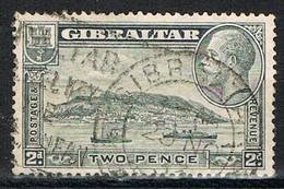 Sello GIBRALTAR 2 P 1933., Yvert Num 92 º - Gibilterra