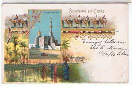 SOUVENIR  DU  CAIRE  1902    BE   1G334 - Caïro