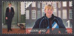 Nederland - 24 April 2017 - Koning Willem-Alexander 50 Jaar - Zegel 4 - MNH - Tab Links - Periode 2013-... (Willem-Alexander)