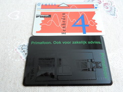 NETHERLANDS - Nice MINT Optical Phonecard - Backprint On 4U (one Card For Sale )