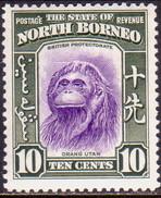 NORTH BORNEO 1939 SG #309 10c MNH But Small Thin In The Centre CV £42 - North Borneo (...-1963)