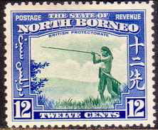 NORTH BORNEO 1939 SG #310 12c MH CV £50 - North Borneo (...-1963)