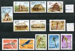 Polen   - Mi.Nr.   3060 - 3065 +3134 - 3139  Gestempelt - 1944-.... Republik
