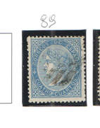 Spagna 1867/68 Queen El.IIa N.1 Valore Scott. 89 See Scan - 1850-68 Regno: Isabella II