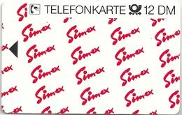 Germany - Simex Krimskoye - S 36 - 02.92 - Specimen/Proof (No Chip No Serial)