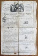 Suisse // Nouveau Charivari Politique Vaudois De Avril 1839 - Documents Historiques