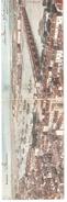 Bordeaux (Gironde)-1904-Double Carte-Postale Panoramique Du Port-Rade-Fleuve-Pont-colorisée - Bordeaux