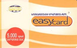ARMENIA - ARMENTEL Easy Card Prepaid, Exp.date 30/10/2006 , Used