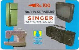 Sri Lanka - Singer Home Appliances Specimen/Proof (No Serial)