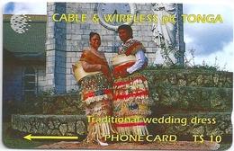 Tonga - C&W - Traditional Wedding Dress Specimen/Proof (No Serial) - Tonga