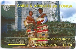 Tonga - C&W - Traditional Wedding Dress Specimen/Proof (No Serial)