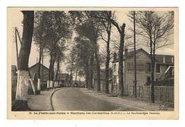 CPA 95 LA FRETTE SUR SEINE Et MONTIGNY LES CORMEILLES Le Boulevard De Pontoise - La Frette-sur-Seine