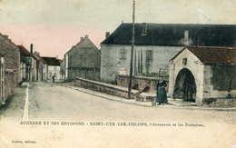 SAINT CYR Les COLONS = L'abreuvoir Et Les Fontaines  (colorisé ) - Other Municipalities