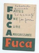 """Cure D'amaigrissement/ FUCA/ Carte De Pesée/ """"Faites Une Cure Amaigrissante FUCA""""/ 1954-55   VPN81 - Perfume & Beauty"""