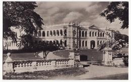 CEYLON The Colombo Museum Building Exterior View, 1940s RPPC Real Photo Postcard CEYLAN - SRI LANKA - Sri Lanka (Ceylon)