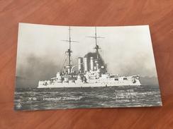 S. M. Linienschiff Lothringen Kaiserliche Deutsche Marine 1.WK Postkarte Original - Other
