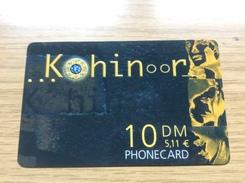 Kohinoor    - 10 DM -   - Little Printed  -   Unused Condition