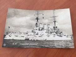 S. M. Linienschiff Hannover Kaiserliche Deutsche Marine 1.WK Postkarte Original - Other
