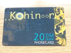 Kohinoor    - 20 DM -   - Little Printed  -   Unused Condition