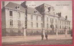 21 - DIJON---Caserne De Gendarmerie--animé - Dijon