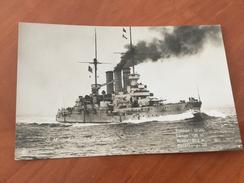 S. M. Linienschiff Hessen Kaiserliche Deutsche Marine 1.WK Postkarte Original - Other