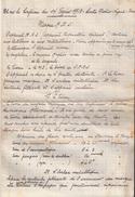 NOTE CONFERENCE SUR MASQUE ARS 1918 APPAREIL PROTECTION GAZ - 1914-18