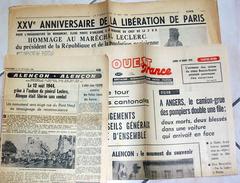 Coupure De Presse Général Leclerc De Hauteclocque - Monument Alençon Orne 61 Normandiie - WW2 Guerre - Riviste & Giornali