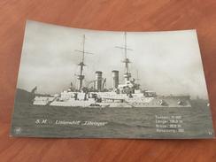 S. M. Linienschiff Zähringen Kaiserliche Deutsche Marine 1.WK Postkarte Original - Other