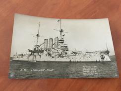 S. M. Linienschiff Elsaß Kaiserliche Deutsche Marine 1.WK Postkarte Original - Other