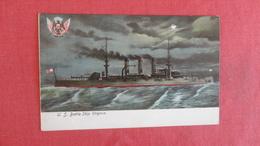 U.S.  Battleship--Virginia   Ref 2558 - Krieg