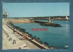 64-BOUCAU-TARNOS-L'embouchure De L'Adour Le Sémaphore La Grande Digue...-non écrite - 2 Scans - 10.5 X 15-IRIS - France