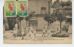 CORREZE - Le Préventorium Du GLANDIER - Le Lazaret Et Sa Cour - Otros Municipios