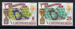 1966 - ST. CHRISTOPHER, NEVIS & ANGUILLA  - Mi. Nr. 166/167 - NH - (CW2427.38) - St.Kitts E Nevis ( 1983-...)