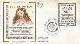 ANDORRA. Lettre Du Roi LOUIS XIII, Seigneur Souverain D'Andorre, En Paréage Avec L'Evèque D'Urgell. FDC - Other