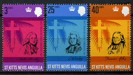 1967 - ST. CHRISTOPHER, NEVIS & ANGUILLA  - Mi. Nr. 178/180 - NH - (CW2427.38) - St.Kitts E Nevis ( 1983-...)